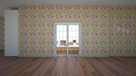 Cute Pinkie House - Feminine - Living room - by Megumi Fairay