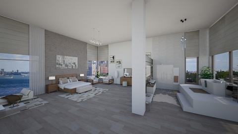 Simple design - Bedroom - by Linda Koen_326