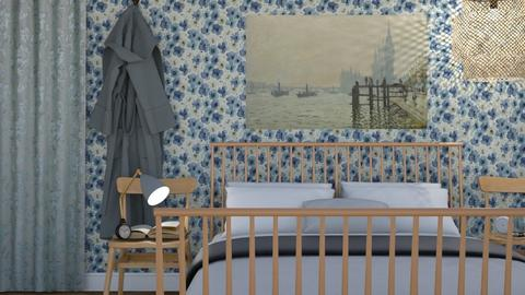 English country bedroom - Country - Bedroom - by HenkRetro1960