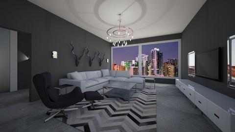 L - Modern - Living room - by Daisy de Arias