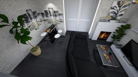 lounge room - Masculine - by flowerevgeniya