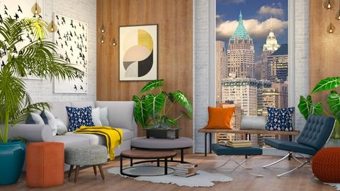 Mid Century Modern - Living room - by millerfam