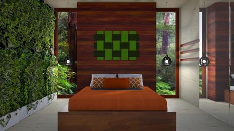 tropical 3 - Global - Bedroom - by donella