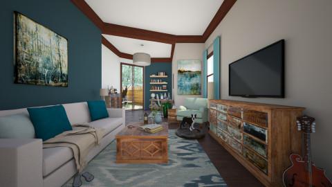 SunDaze - Living room - by jenshadow_222
