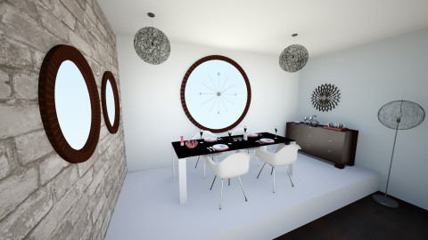 clock - Dining room - by Sliema123