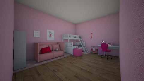 Girls Only NO BOYS - Glamour - Bedroom - by maayahori