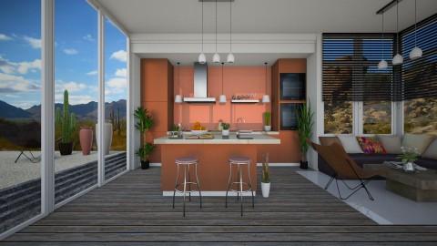 Desert Home Kitchen - by Laurika