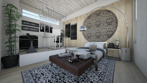 Comfort Zone - Retro - Bedroom - by martillaga