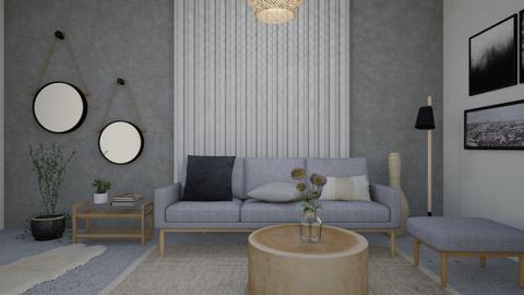 1011 4 - Modern - Living room - by Riki Bahar Elbaz