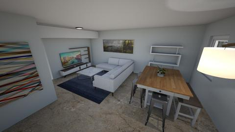 New Living Room Option 2 - Living room - by nando6713