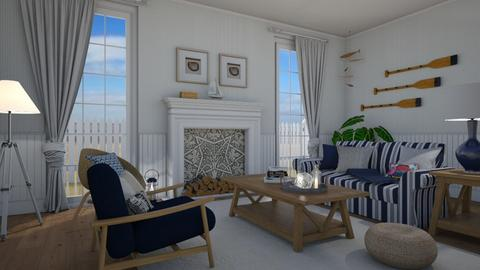 Nautical living - Living room - by Tuija