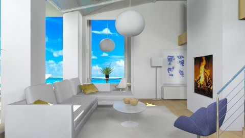 On the Water - Modern - Living room - by Baustin
