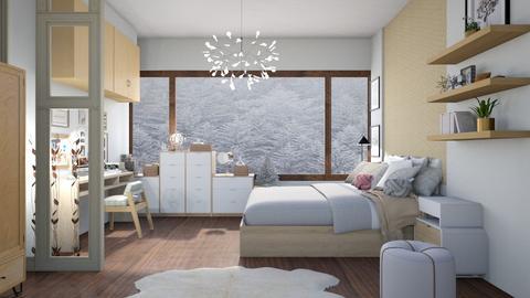 Winter Room - by dianemonton