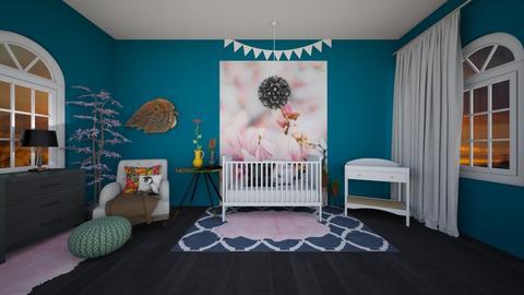 fall  - Kids room - by thomanjenna