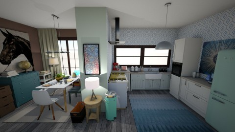 mix vintage - Kitchen - by cupofhappy