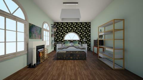 green - Modern - Bedroom - by LAS95