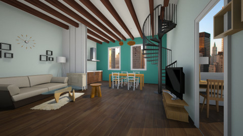 sweet home - Modern - Living room - by Noella Louisy