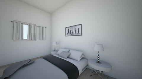 Bedroom - Bathroom - by Hallie Marcellus