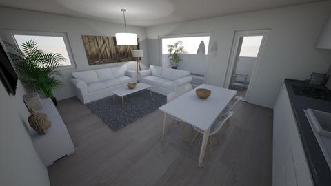 Alexia salon - Modern - Dining room - by everybodyfeel