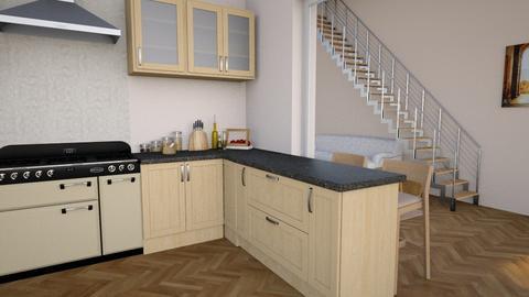 Wood kitchen - Kitchen - by CCPompey