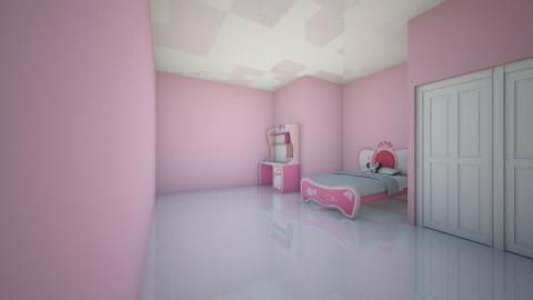 disney princess room - Bedroom - by ISABELLA BARBIERI