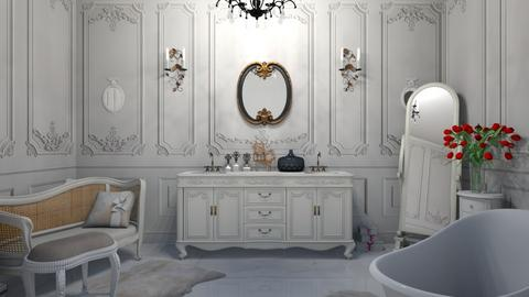 Shabby Chique Bathroom - by matina1976