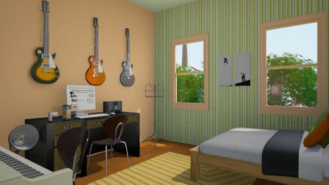 Jacks Room - Bedroom - by hibob
