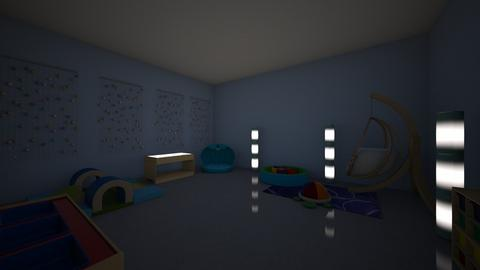 Sensory Room lights off - Kids room - by Emmagaffney