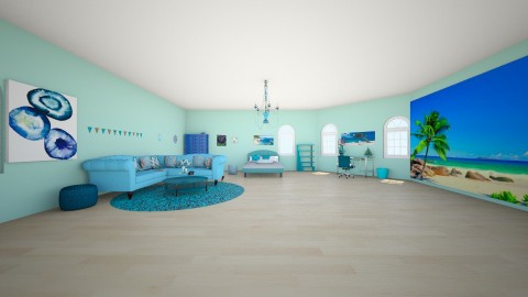 beach - Bedroom - by petrovasisi