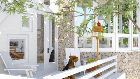fresh paint - Eclectic - Garden - by russ