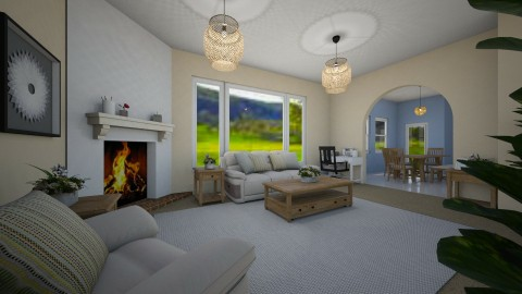 Home Sweet Home - Living room - by millerfam