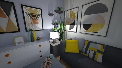 Living Room Corner - Living room - by PenAndPaper