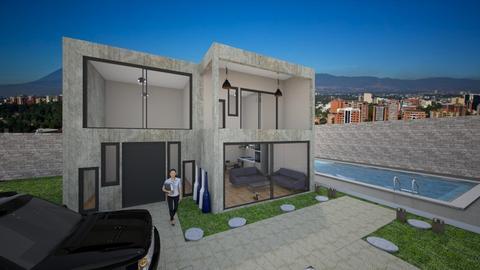 casa de concreto - by wuayman