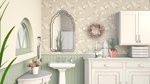 Christmas Bathroom - by Bren123