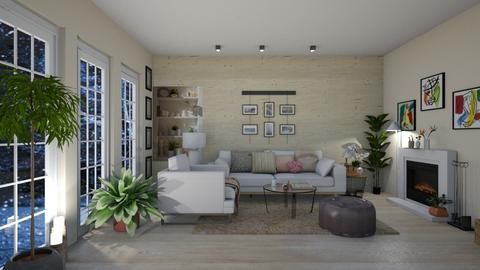 Salon 2 - Living room - by Tandess