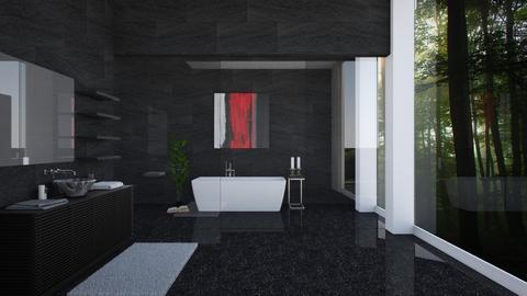 dark bathroom - Bathroom - by clairelist07
