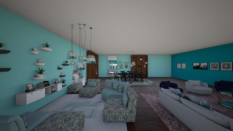 salvia - Living room - by elivania