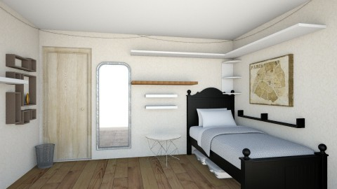 bedroom 3 - Bedroom - by laurenmla
