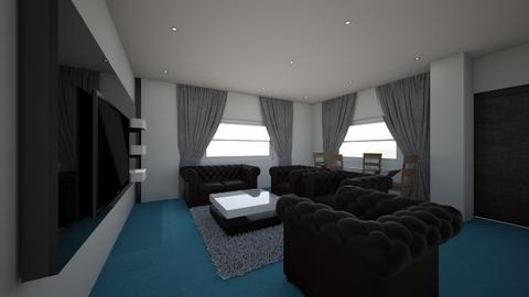 NAVY SITTING ROOM - Living room - by jfx