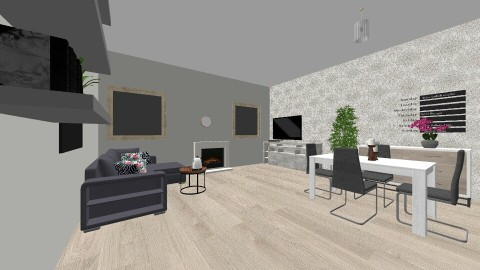 my home - Living room - by kyanavdp