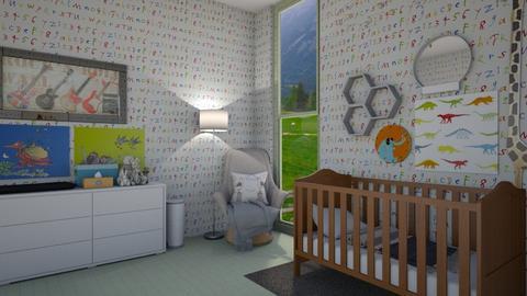 nursery2 - Kids room - by rosej