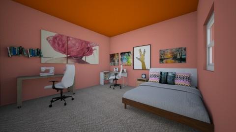 dream bedroom - by chucklo7