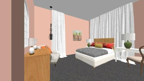 LilsGuestRoom2 - Vintage - Bedroom - by Cindychatleain