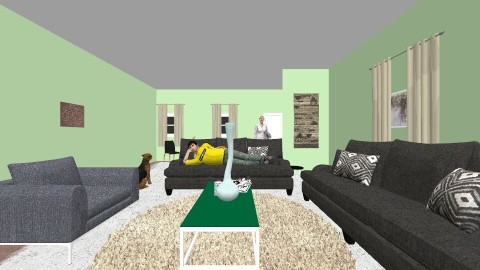 Proportion Room - Living room - by AlphaBelle