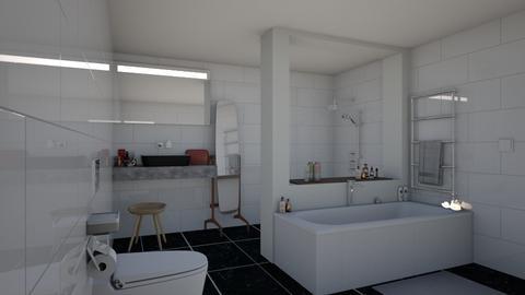 Stones - Bathroom - by FayBeeMee