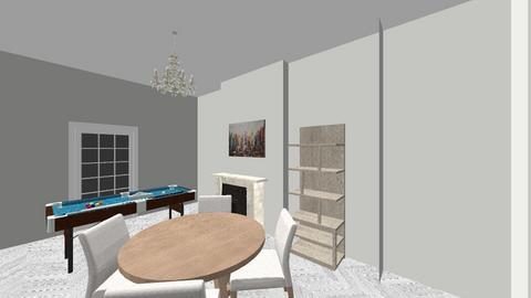 Foyle road LR back - Living room - by JLStratford
