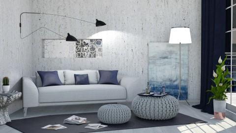 M_MGB - Modern - Living room - by milyca8