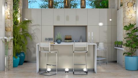urb jung kitch - Kitchen - by intdeson