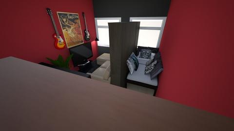 my home - Living room - by Charity De Jonge