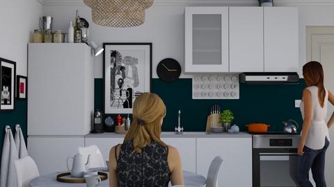 Tiny Kitchen - Modern - Kitchen - by HenkRetro1960
